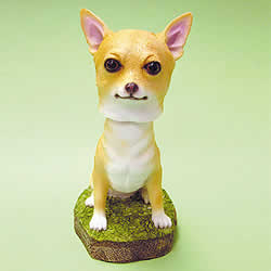 bobble heads dogs chihuahua